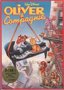 Oliver & Company Game