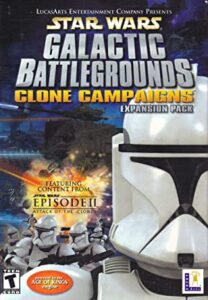 Star Wars: Galactic Battlegrounds - Clone Campaigns Game PC